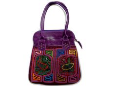 Big Purple Mola Bag
