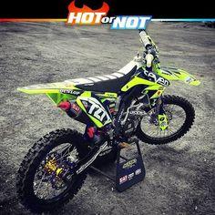 Hot or Not? Suzuki Rmz 250 by @grgtejada17 #hotornotmx #motocross #dirtbike #dirtbikes #mx #supercross #suzuki #suzukimx #rmz250