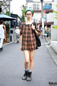 Minami, 21 years old, works at The Circus Harajuku | 22 October 2013 | #Fashion #Harajuku (原宿) #Shibuya (渋谷) #Tokyo (東京) #Japan (日本)