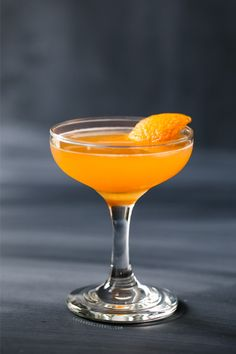 El antioxidante (Vodka, Aperol y mandarina cóctel)