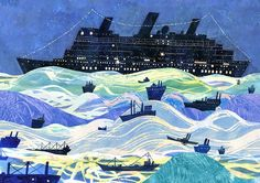CHILDREN'S ILLUSTRATION: Victoria Semykina Antolini's 'The Real Boat'