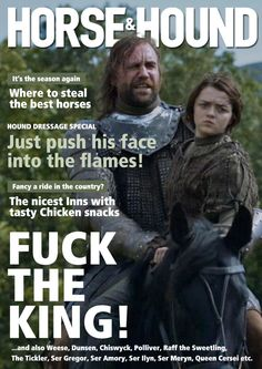#GameofThrones as Magazines(Best Movies)