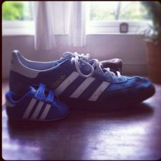 Father and son Adidas trainers 9b5afd372e028