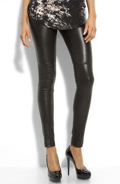 Leather leggings......so want!