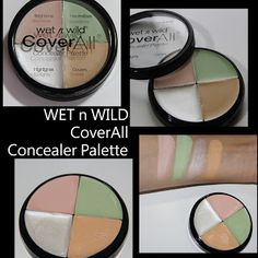 MichelaIsMyName: WET n WILD CoverAll Concealer Palette REVIEW Wet N Wild, First Love, Eyeshadow, Nails, Makeup, Beauty, Ideas, Finger Nails, Ongles