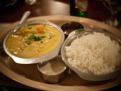 Vegetable Korma. This vegetarian meal is full of flavor and nutrition.  You can use whatever vegetables in your fridge to make this meal.  - Foodista.com