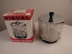Vintage Visual Revolving Coin Bank, by The Old Milk Barn