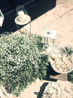 allestimento matrimonio - esterno chiesa - charme en blanc - country wedding