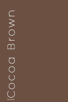 Chocolate Truffles, Pantone Color, Diva, Words, Brown, Colors, Divas, Brown Colors, Colour