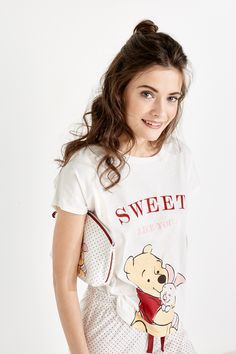 Women'secret - Pijama de algodón Winnie de Pooh