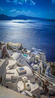 Santori Island, Greece