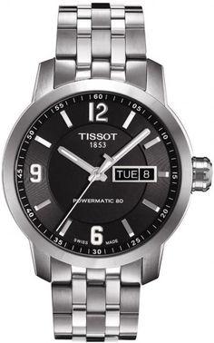 T055.430.11.057.00, T0554301105700, Tissot prc 200 authomatic watch, mens