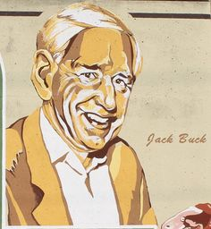 Jack Buck (1924-2002) was born in Holyoke, MA. He was the beloved radio announcer for St. Louis Cardinals baseball for 48 years. In 1987, he received baseball's Hall of Fame Ford C. Frick award for excellence as a baseball broadcaster. -Old Town Cape