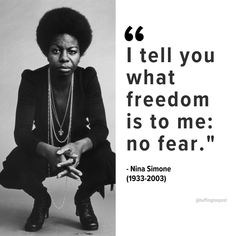 """Rest in power to revolutionary jazz artist and activist Nina Simone who died on this day in Power To The People, My People, Women In History, Black History, Nina Simone Quotes, Samba, Jazz Quotes, Black Quotes, My Black Is Beautiful"