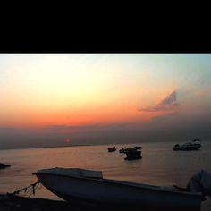 Sunset at Budaiya Beach, Bahrain