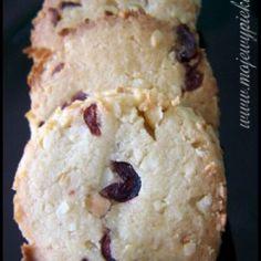 Kruche ciastka Cranberry Noel My Favorite Food, Favorite Recipes, My Favorite Things, Christmas Baking, Christmas Cookies, Cookie Jars, Shortbread, Cake Cookies, Xmas