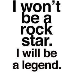 Items similar to Rock 'n' Roll Poster - Legend on Etsy ❤ liked on Polyvore featuring home, home decor, wall art, quotes, text, filler, phrase, saying, word wall art and quote posters