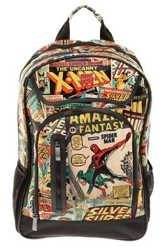 bf6ef48b76 marvel xmen spiderman bookbag napsack Marvel Backpack