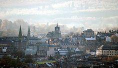Stirling vista desde Abbey Craig