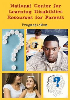 National Center for Learning Disabilities Resources for Parents :: PragmaticMom  #ADD #ADHD #IEP (scheduled via http://www.tailwindapp.com?utm_source=pinterest&utm_medium=twpin&utm_content=post6451204&utm_campaign=scheduler_attribution)