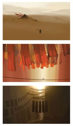 posts from a wannabe animator • garabatocreativo: Journey by Thatgamecompany &...