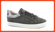 Esprit 126EK1W014-015 Situla Lace Up Damen Sneaker (42 EU, grau) (*Partner Link)