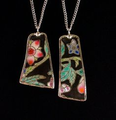 Broken china necklaces...made by Laura Beth Love, Dishfunctional Designs