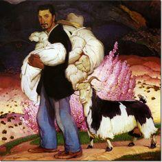 The Widower by Victor Higgins (1884-1949)  #VictorHiggins