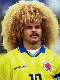 I have just discovered a page about the worlds worst footballers haircuts! More to follow!