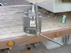 Ring Roller by Rob Garner -- Homemade ring roller fabricated from steel plate and bar stock. http://www.homemadetools.net/homemade-ring-roller-25