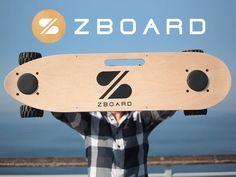 The ZBoard: The Weight-Sensing Electric Skateboard by Ben Forman, via Kickstarter.  Get funded with www.Kickstarter.com