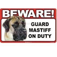 CGSignLab 6x6 Victorian Gothic Heavy-Duty Outdoor Vinyl Banner Beware of Dog