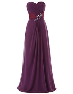 Dresstells Long Chiffon Dress with Beadings Bridesmaid Dresses Wedding Dress Grape Size 2 Dresstells http://www.amazon.com/dp/B00M94Z6TA/ref=cm_sw_r_pi_dp_rHapub1WY5N8J