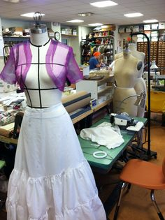 The Costume Shop is preparing for Porthouse Theatre's production of South Pacific! porthousetheatre.com #theatre #costumes #southpacific
