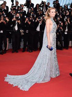 Diane Kruger in Prada   - HarpersBAZAAR.com