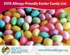 Allergy-Friendly Easter Candy Guide for 2016 Easter Candy, Easter Treats, Tree Nut Allergy, Peanut Allergy, Beyond Diet, Vegan Candies, Nut Allergies, Allergy Free Recipes, Nut Free