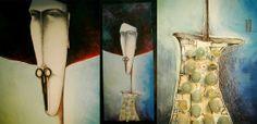 No name, acrylic/canvas, 50x120 cm. www.leontinpaun.ro Buy online - www.fine-art.ro