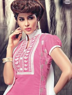 MASTANI-9201 – FabChain Top Colour, Color, Pink White, Collection, Tops, Dresses, Colour, Gowns, Shell Tops