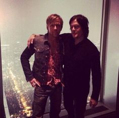 Flanery and Reedus