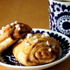 アヌのフィンランド風シナモンロール レシピ