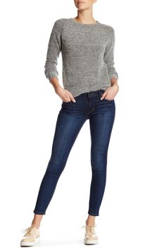 The Icon Skinny Ankle Jean