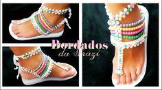 Sandália modelo carnaval