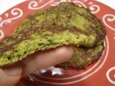 GAPS Broccoli Fritters -- S made with whole eggs, eat with protein and green salad  -- E made with eggwhites, eat with lean protein and E carb source