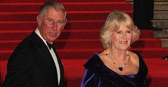 CARAS - Realeza - Charles e Camilla prestigiam première mundial de '007 - Operação Skyfall'