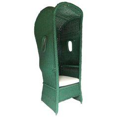 Vintage Armchairs - For Sale at Wicker Beach/Garden Chair Modern Garden Furniture, Fire Pit Furniture, Outside Furniture, Vintage Furniture, House Near The Sea, Patio Lanterns, Beach Gardens, Furniture Covers, Garden Chairs