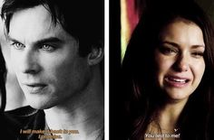 The Vampire Diaries Season 5 Finale | Damon and Elena | Nina Dobrev and Ian Somerhalder