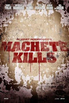 Promo poster Machete Kills
