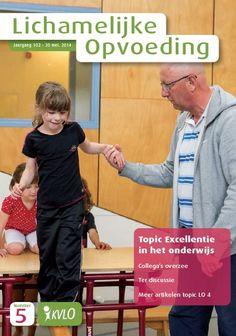 KVLO Tijdschrijft Lichamelijke Opvoeding no.5 2014 met diverse artikelen van docenten Fontys Sporthogeschool: Frank de Kok, Enrico Zondag, Lars Borghouts en Dennis Witsiers