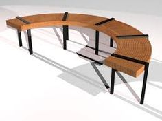 curved benches - Google Search
