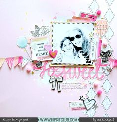 My first layout using the gorgeous #august2017 @hipkitclub kits  #scrapbookingkits #scrapbooking #scrapbooklayout @maggiehdesign @americancrafts #cratepaper #mixedmedia